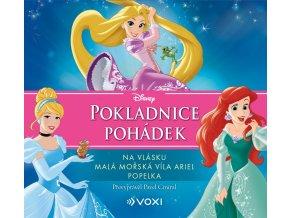 Disney - Na vlásku, Malá mořská víla Ariel, Popelka (audiokniha pro děti) - kolektiv
