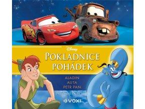 Disney - Aladin, Auta, Petr Pan (audiokniha pro děti) - kolektiv