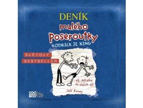 Deník malého poseroutky 2 (audiokniha) - Jeff Kinney, Václav Kopta