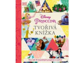 Disney Princezna - Tvořivá knížka - kolektiv