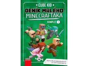 Deník malého Minecrafťáka komplet 1 - Cube Kid