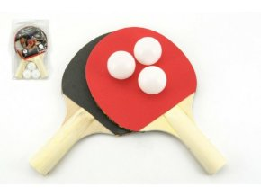 Sada stolní tenis 2 pálky + 3 míčky skladem