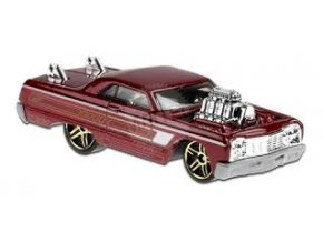 hot wheels 64 chevy impala tooned 9 10 ghf89