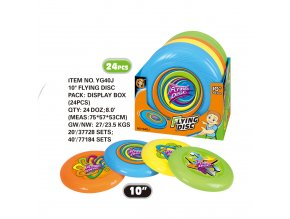 Frisbee 25 cm skladem