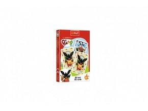 Černý Petr Bing Bunny společenská hra v krabičce 6x9cm