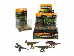 Dinosaurus plast 7cm 4 druhy v krabičce (1 ks)