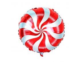 balonek lizatko 45cm folie 2 zavesne otvory 2 skladem