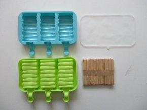 tvoritko na zmrzlinu drevene klacky 50ks silikon skladem 2