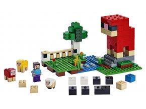 LEGO Minecraft Ovčí farma