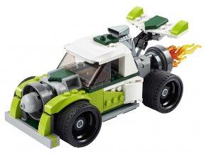 LEGO Creator Auto s raketovým pohonem