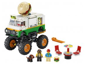 LEGO Creator Hamburgerový monster truck