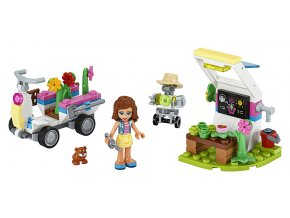 LEGO Friends Olivie a její květinová zahrada