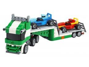 LEGO Creator Kamion pro přepravu závodních aut