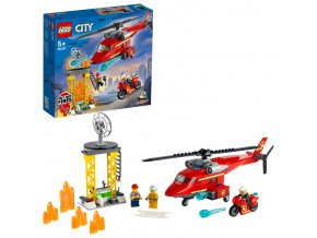 LEGO City Hasičský záchranný vrtulník