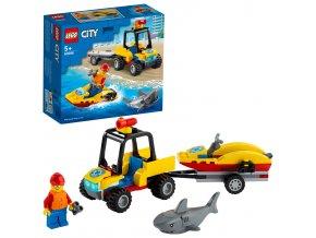 LEGO City Záchranná plážová čtyřkolka
