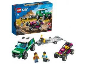LEGO City Transport závodní buginy