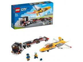 LEGO City Transport akrobatického letounu