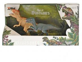 dinosaurus 15cm 2ks v krabicce
