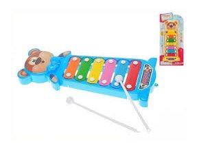 xylofon medvidek 28 cm 2 barvy na karte 2