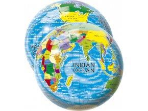 Míč Mapa světa 23 cm skladem