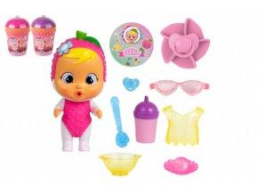 CRY BABIES Magické slzy série Tutti Frutti panenka s doplňky v plastové dóze 12x17x19cm (1 ks)