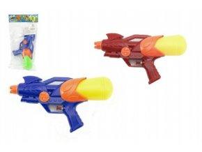 Vodní pistole plast 25cm mix z 2 barvy v sáčku