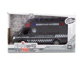 auto policie se zvukem a svetlem skladem