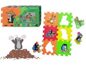 Pěnové puzzle 15x15 6ks skladem