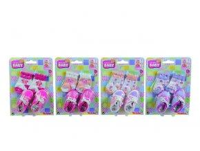 Ponožky a botičky pro panenky,vel.38-43 skladem