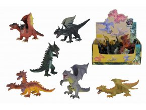 Figurky draků, 12 DP, 17-25 cm, 6 druhů skladem