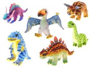 Dinosaurus plyšový 18-26cm 6druhů 0m+ skladem