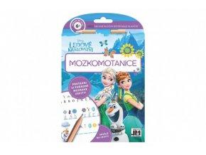 Mozkomotanice s tužkou Ledové království/Frozen 15x21cm