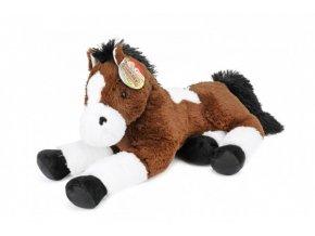 Kůň ležící plyš 60cm 2m+ skladem