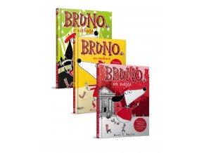 Bruno 3 díly v balíčku - Alex T. Smith
