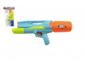 Vodní pistole plast 33cm mix z 2 barvy v sáčku