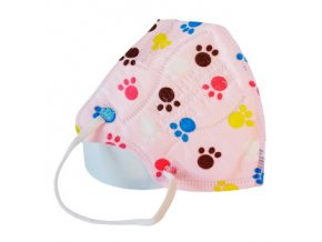 respirator ffp2 detsky tlapky