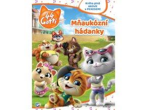 44 koček - Mňaukózní hádanky - kolektiv skladem