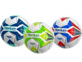 Míč Fotbalový šitý Titanium 350g skladem