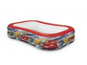 Bazén dětský nafukovací Auta/Cars 103x69x22cm