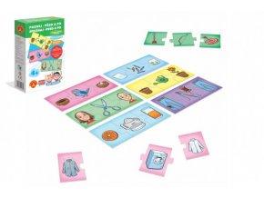 Hra školou® Poznej před a po kreativní a naučná hra v krabici 16x25x5cm