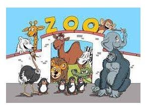 omalovanky a5 lakovane zoo