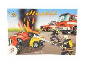 omalovanky a5 lakovane hasici