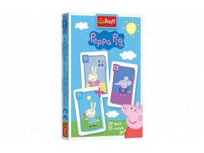 Černý Petr Prasátko Peppa/Peppa Pig společenská hra skladem