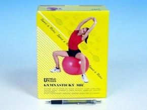 Gymnastický míč 75cm rehabilitační relaxační v krabici skladem