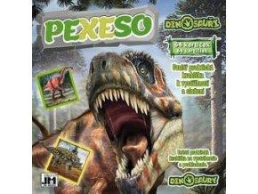 Pexeso Dinosauři 21,5 x 21,5 cm