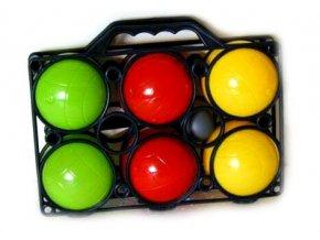 Dětský petanque / koulená - 6 ks míčů