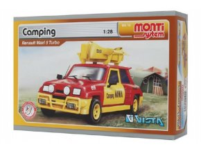 Stavebnice Monti System MS 15 Camping Renault 5 1:28 v krabici 22x15x6cm