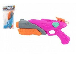 Vodní pistole plast 28cm 2 barvy v sáčku skladem