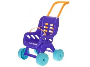 kocarek buggy plastovy fialovy skladem