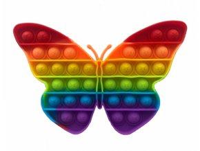 pop it hra duhovy motyl rainbow